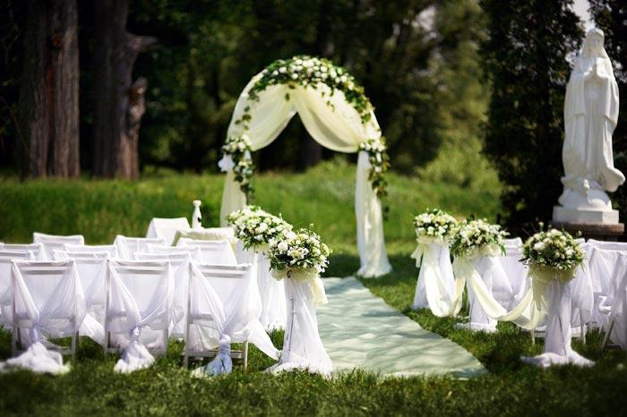 Как организовать свадьбу на природе