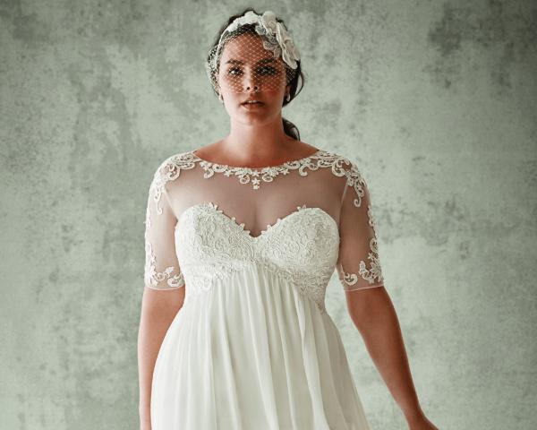 Салон свадебное платье большой размер