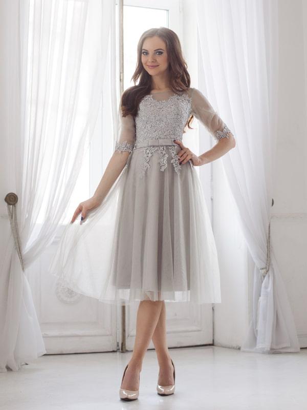 Платье на осеннюю свадьбу