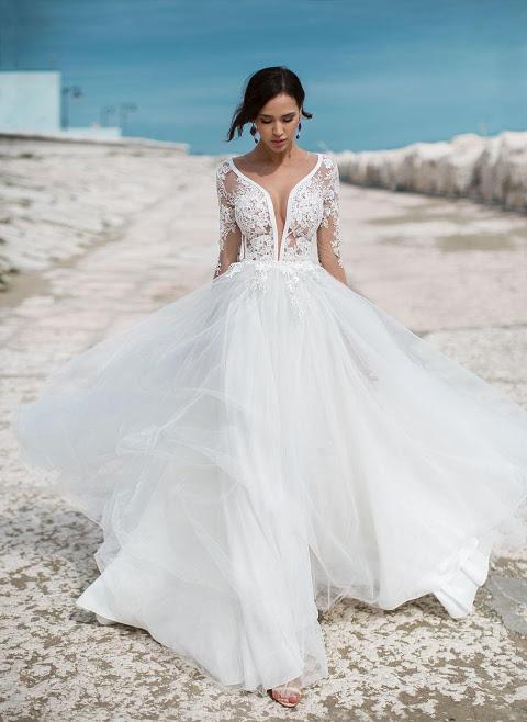 Свадебные платья для беременных - греческие, пышные, короткие платья ... 66f097fb369