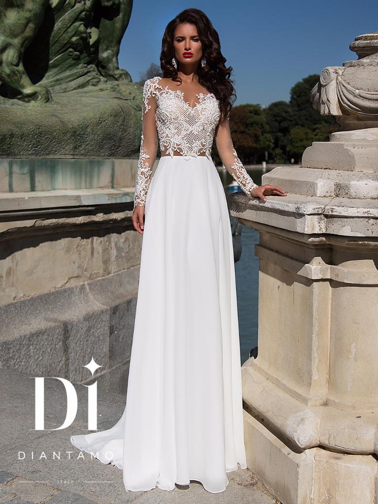 fb39d14a08a8c85 Прямые свадебные платья - купить платье невесты прямого силуэта на ...