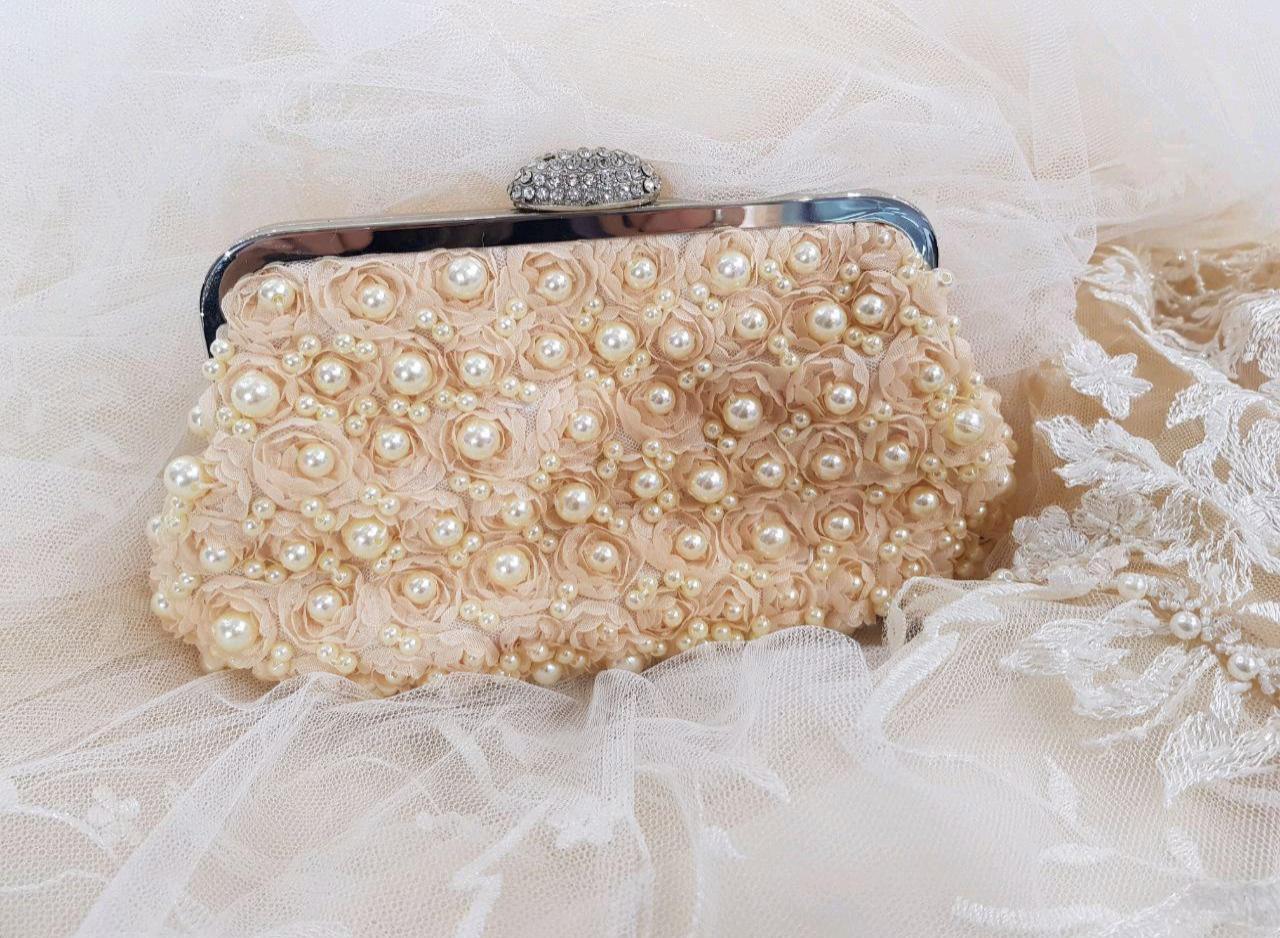 cc1e85253d66 Свадебные сумочки 👜 - купить клатч невесты, сумку-мешочек на ...