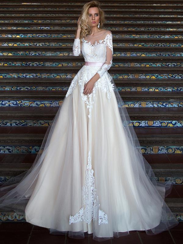 770cba02dd3 Свадебные и вечерние платья Оксана Муха - купить платье Oksana Mukha ...