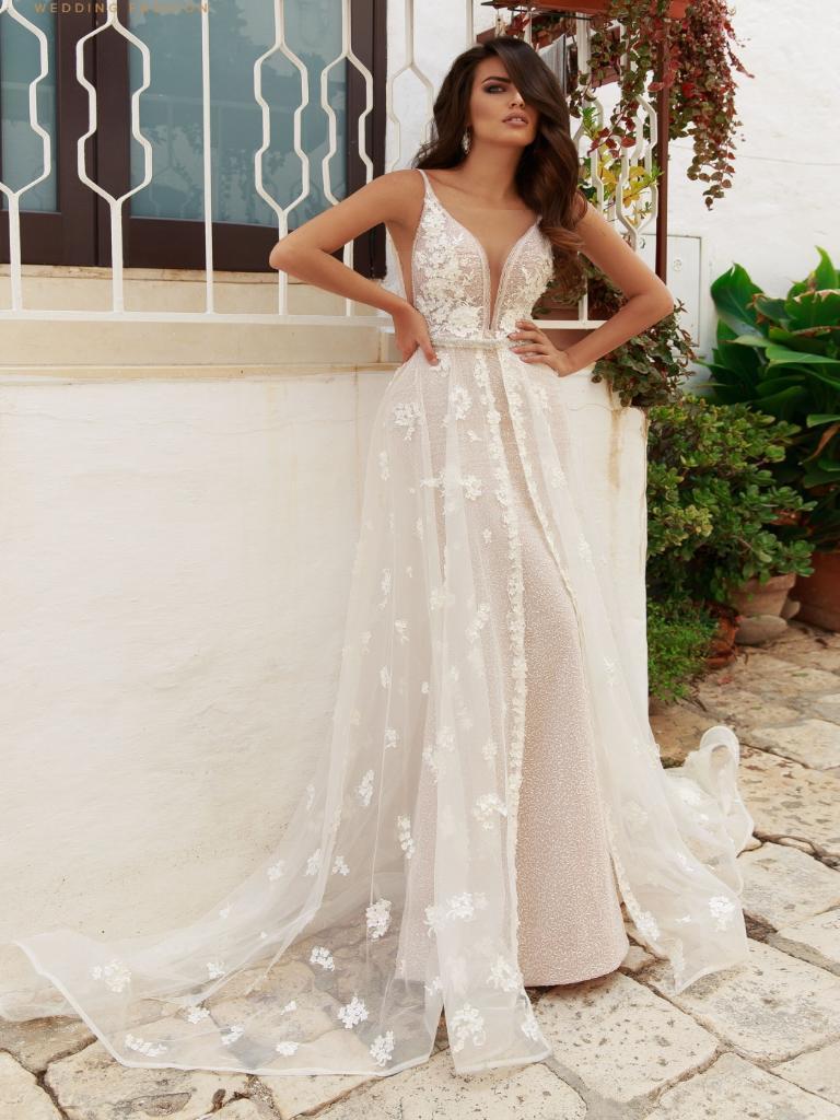 7ce3cf149643b71 Прямые свадебные платья - купить платье невесты прямого силуэта на ...