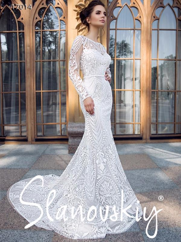6341db89eb9 Свадебные платья рыбка-русалка - купить платье невесты силуэта рыбка ...