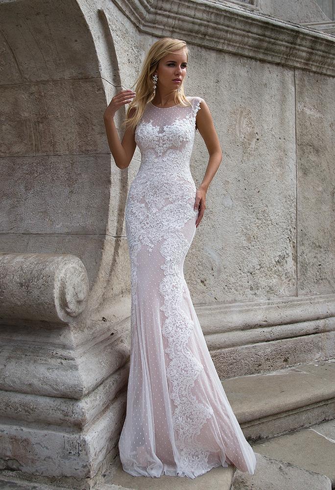 Свадебное платье Helen от Oksana Mukha – купить в салоне Милано Вера в  Санкт-Петербурге 481c0d9ffc35c